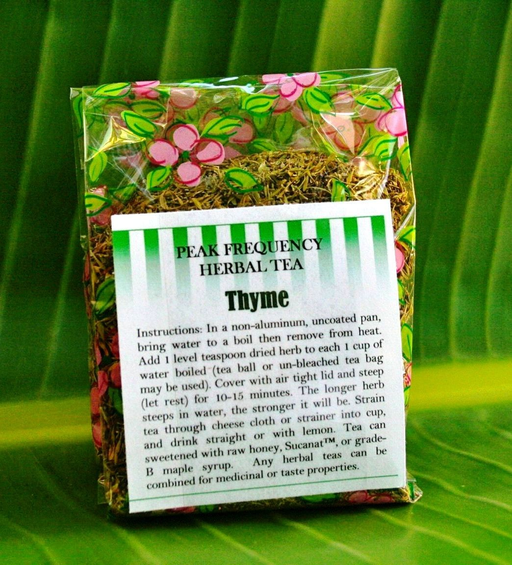 Ineedherbs com thyme bulk herbal tea 3 oz