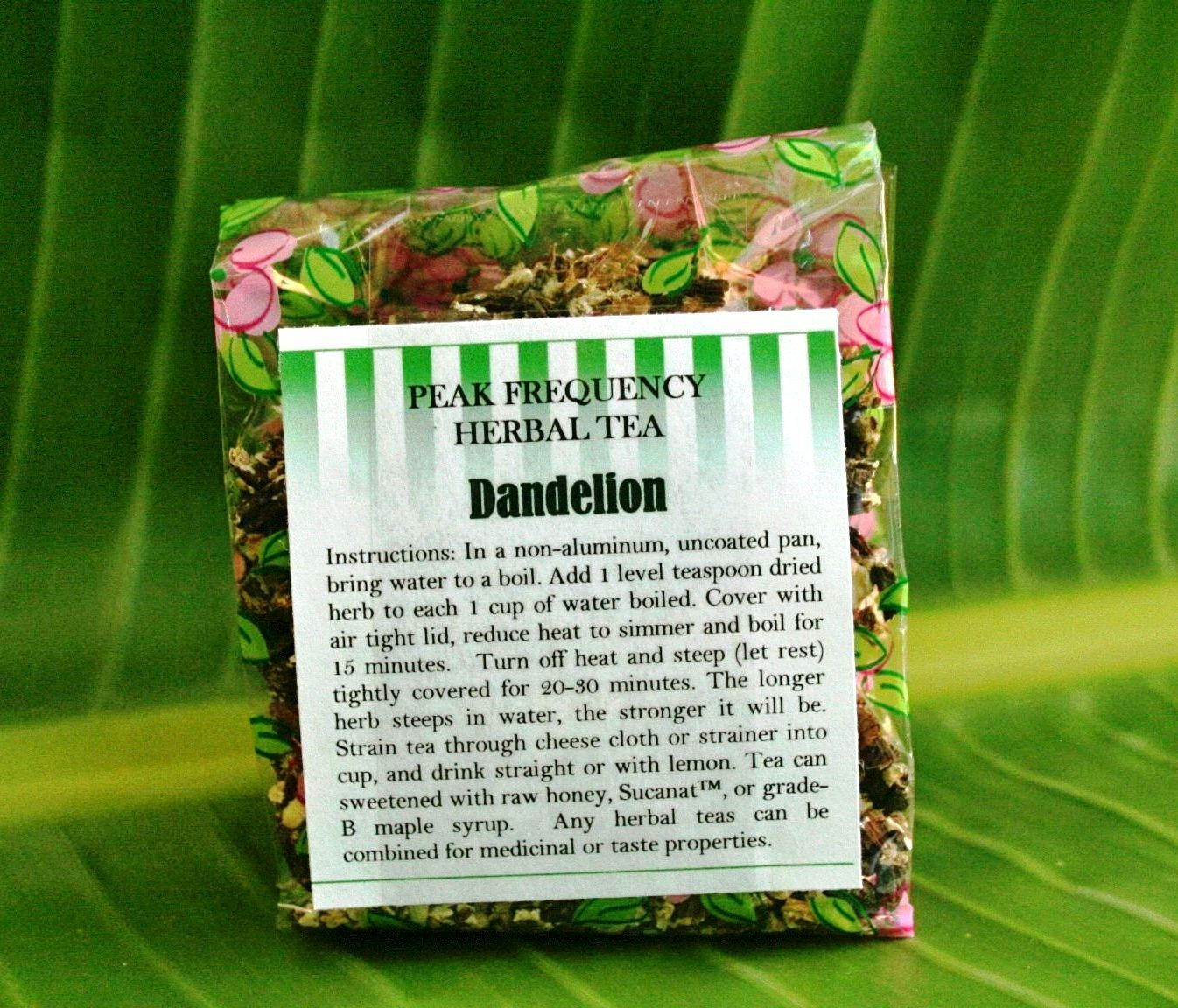 Dandelion Root Bulk Herbal Tea - 2oz