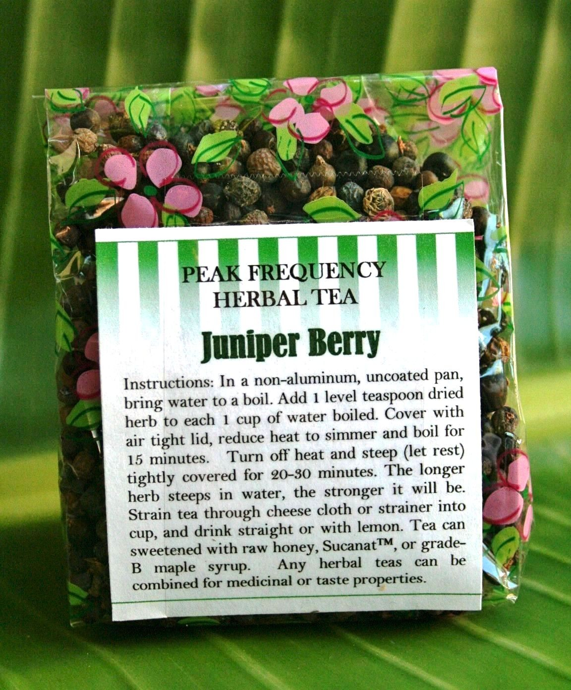Juniper Berry Bulk Herbal Tea - 3oz