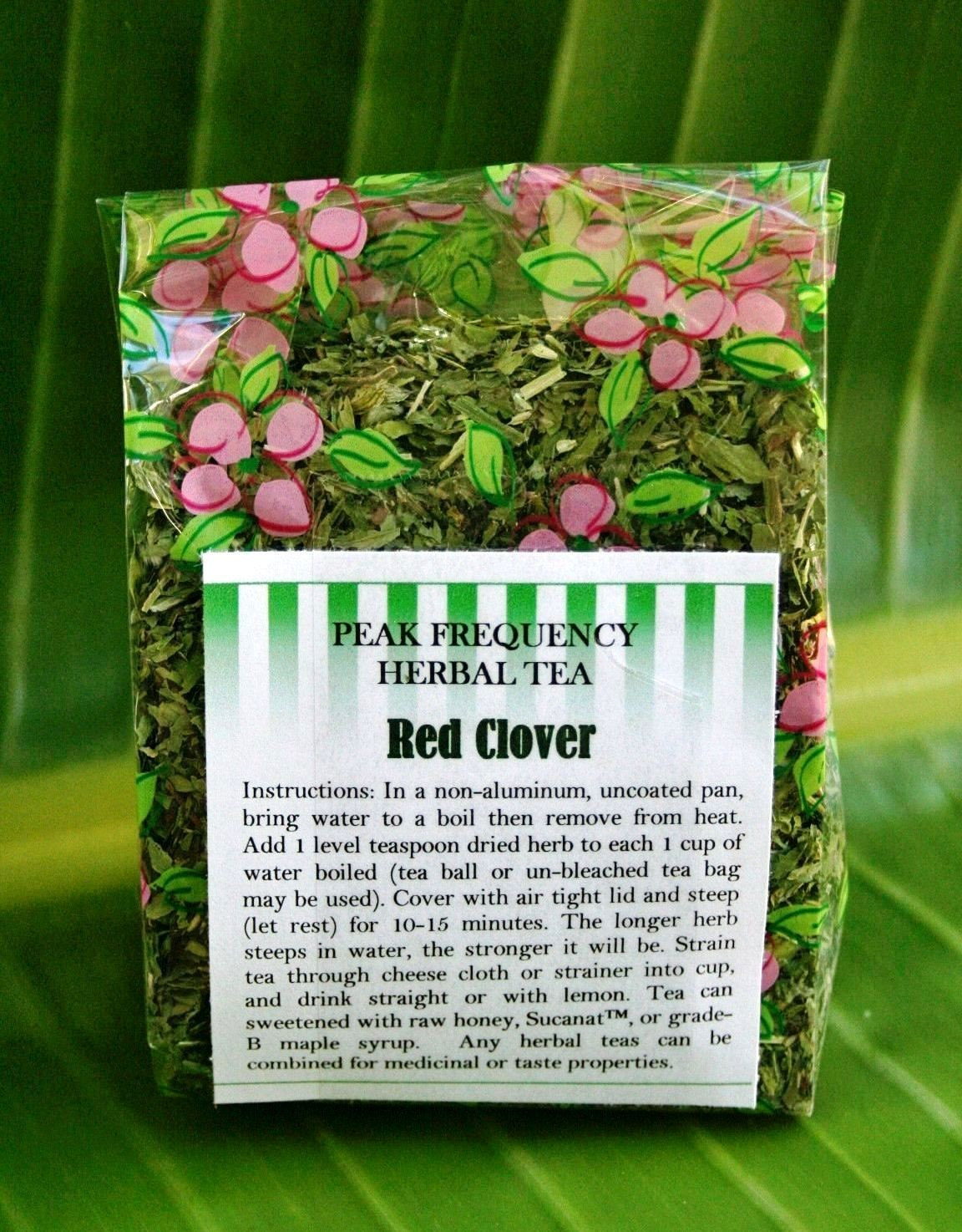 Red Clover Bulk Herbal Tea - 3oz