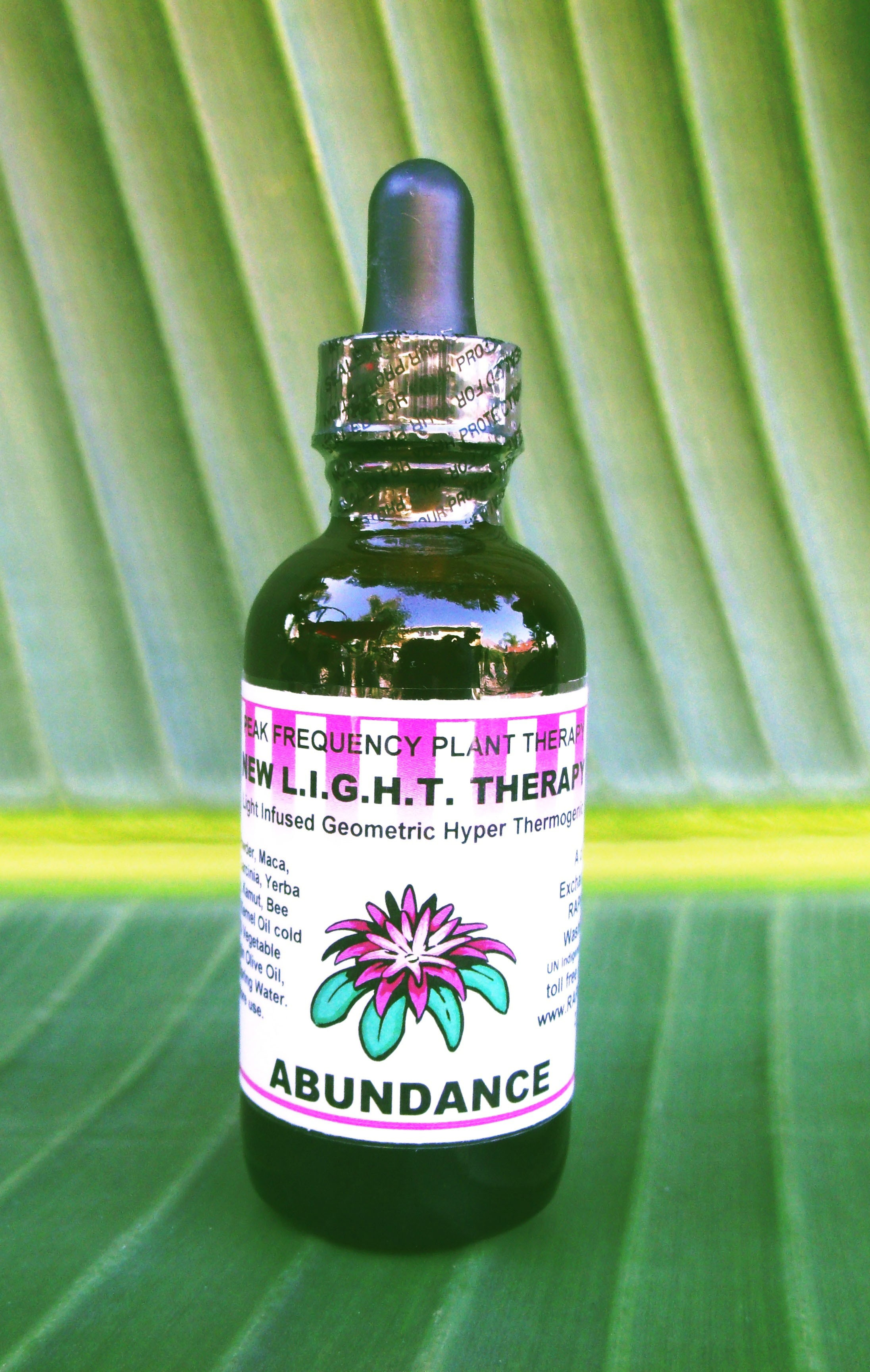 Abundance New LIGHT Therapy Formula - 2 oz