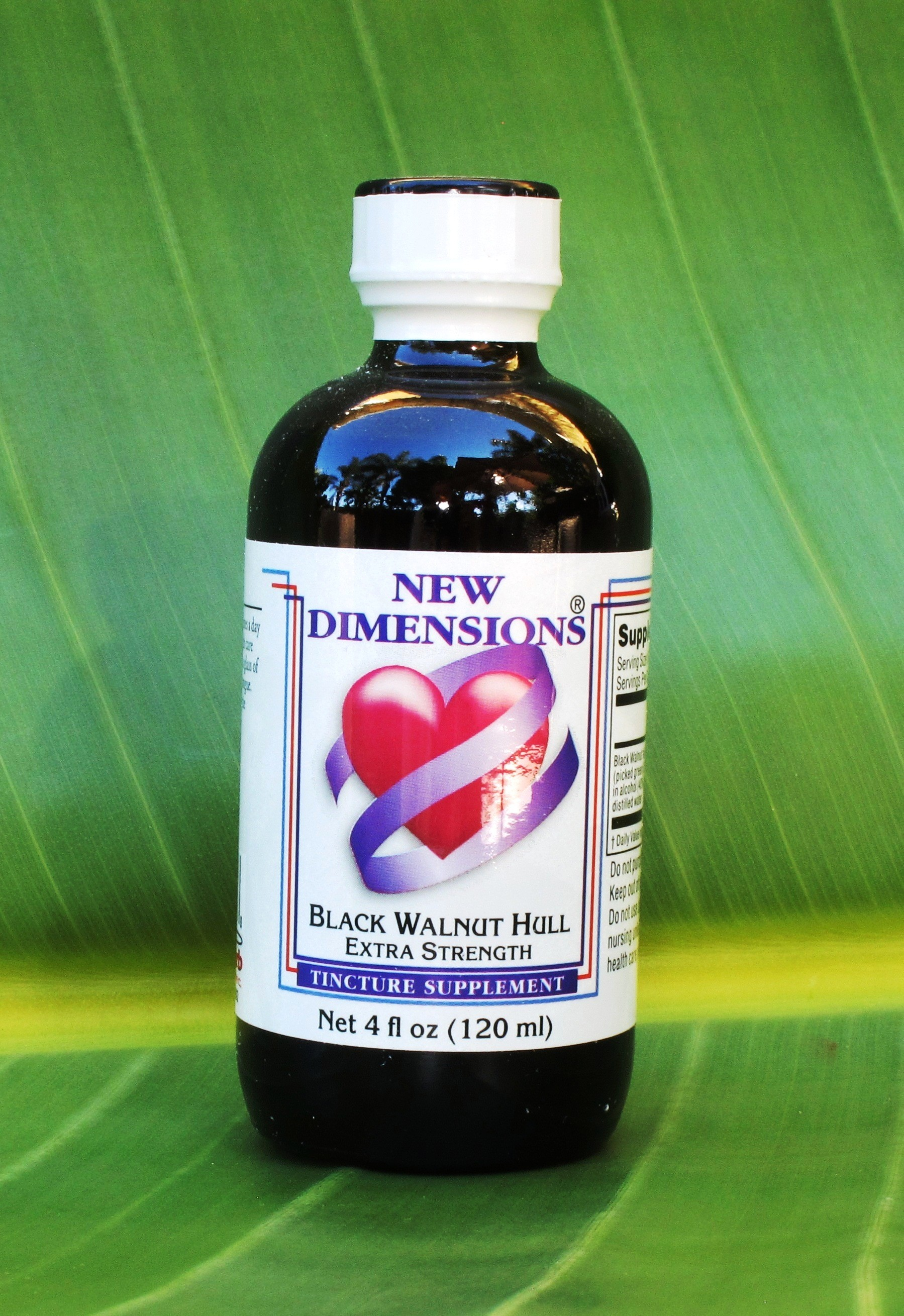 Black Walnut Hull (green) Parasite Cleansing - 4 oz