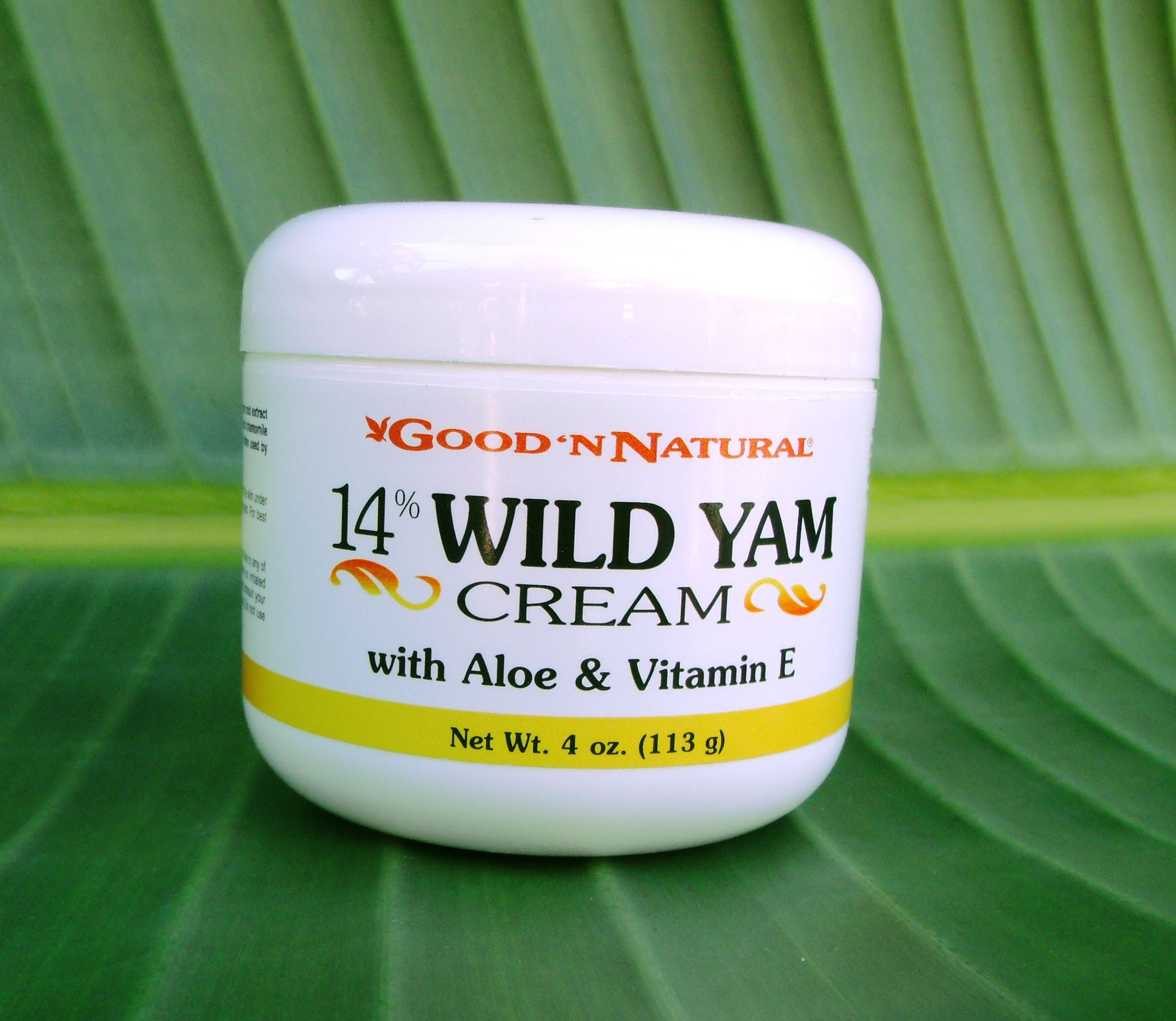 Wild Yam Cream Skin & Body Care - 4oz