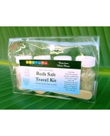 Bath Salt Travel Kit - 4 x 2 oz Bottles