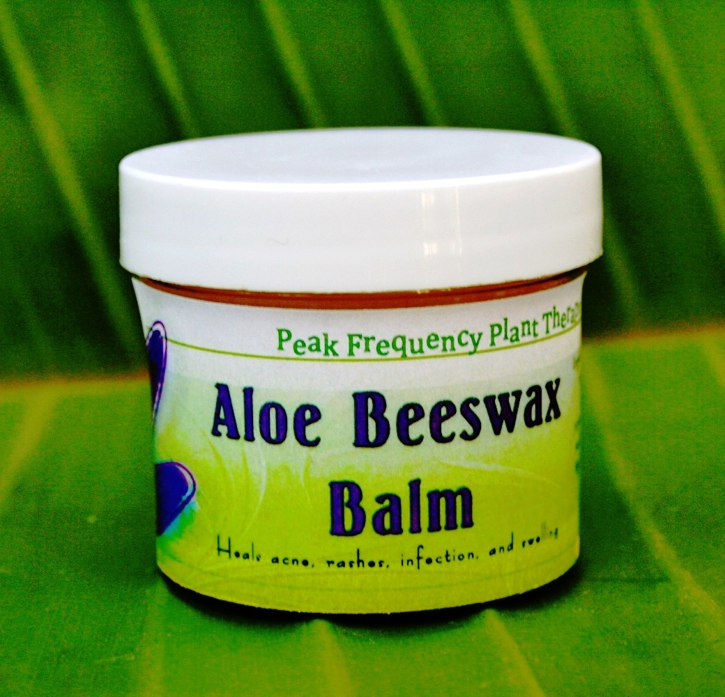 Aloe Beeswax Salve Skin & Body Care Cream - 2 oz